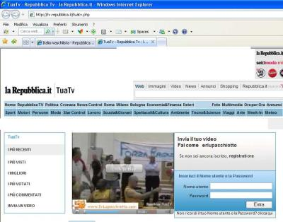 Informazione in giallorosso santa for Home page repubblica