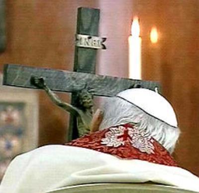 via Crucis al Colosseo  - Giovanni Paolo II dans immagini sacre